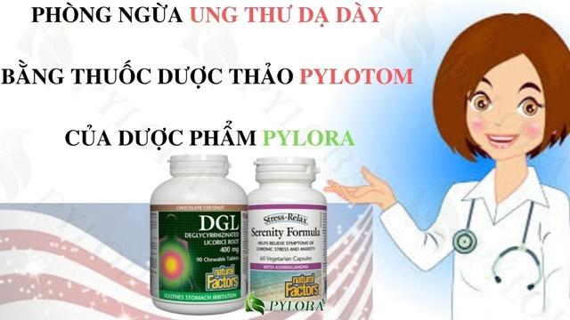 Bộ đôi dược thảo PyLoTom từ Mỹ