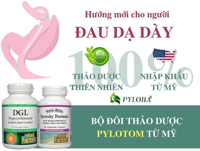 Bộ đôi dược thảo PyLoTom giúp cải thiện nhanh tình trạng sức khỏe